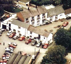 An ariel view of Afonwen Craft and Antique Centre