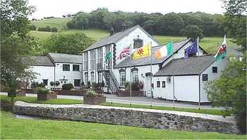A front view of The AfonwenCraft and Antique Centre